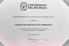 Universidad del Pacifico Diploma